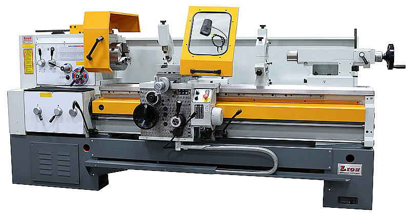 European LION Engine Lathes | Heavy Duty Manual Metalworking